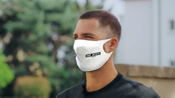 """18.000 Masken für """"Auf Jetzt"""""""