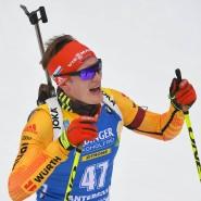 Das Podest war außer Sicht: Biathlet Benedikt Doll in Antholz