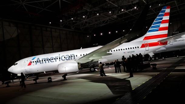 American Airlines könnte sich durch die Fusion mit US Airways aus der Insolvenz befreien