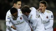 AC Mailand holt nach 0:2 noch ein Remis