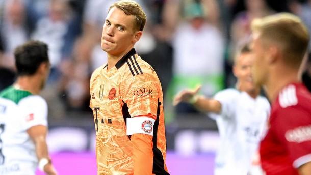 Das poröse Mauerwerk des FC Bayern