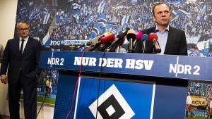 Tabula rasa beim Hamburger SV