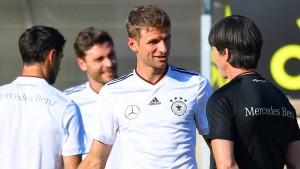 Zeichen des Vertrauens für Thomas Müller