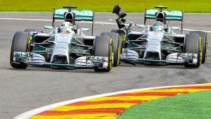 Fliegende Fetzen bei Mercedes