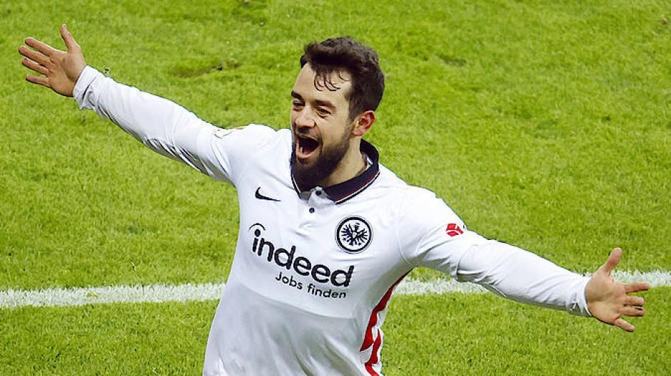 Bei Eintracht Frankfurt läuft es wieder für Amin Younes.