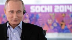 Putin hält Debatte um Olympia-Boykott für dumm