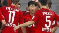 Leverkusen gewinnt mit ungewohntem Minimalismus