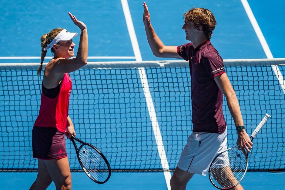 Sport kompakt: Kerber und Zverev nicht zu stoppen