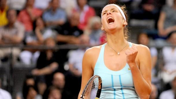 Görges im Halbfinale - Petkovic verpasst Coup