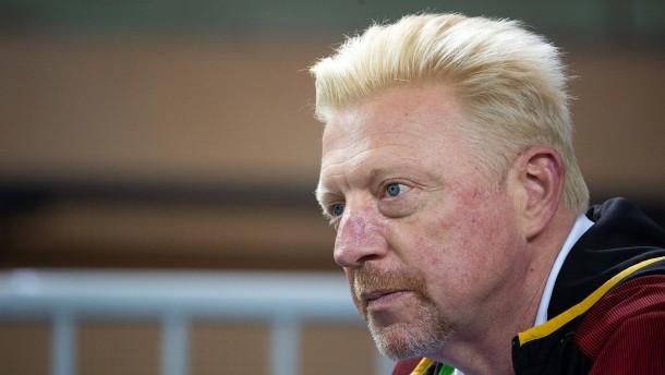 Nur Boris Becker schimpft