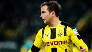 Mario Götze spielt wieder in Dortmund, sein Bruder Felix weiter beim FC Bayern.