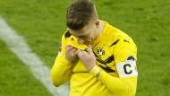 Niedergeschlagen: Dortmund-Profi Marco Reus