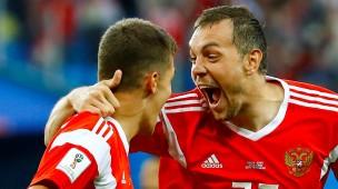 Ist es denn zu glauben? Russland gewinnt auch die zweite WM-Partie.