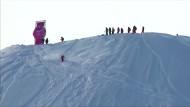 Freerider in den Bergen von Alaska