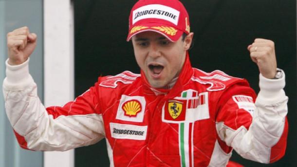 Massa profitiert von Räikkönens Rohrbruch