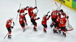 Schweiz sensationell im Finale gegen Schweden