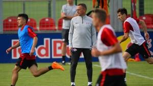 RB Leipzig will den harten Weg gehen