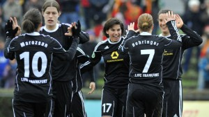 Der 1. FFC Frankfurt ist wieder spitze