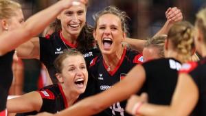 Deutsche Frauen im Halbfinale