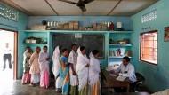 Nicht nur in Majuli bildeten sich Schlangen in den Wahllokalen