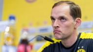 """""""Unwahrheiten und persönlichen Verleumdungen"""": BVB-Trainer Thomas Tuchel."""