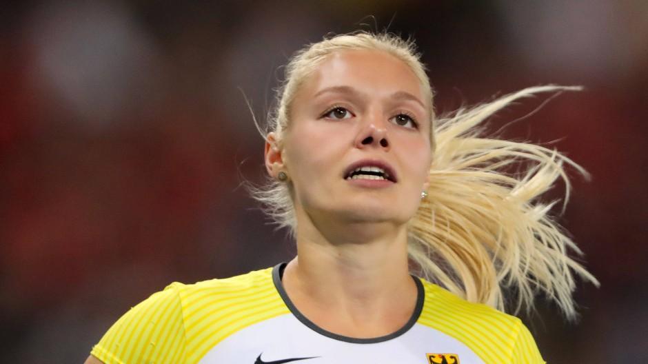 """Lisa Mayer: """"Natürlich will ich die schnellste Frau Deutschlands sein"""""""