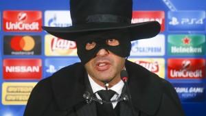 Kurioses Outfit nach Sieg in Champions League