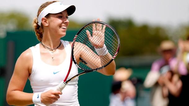 Entspannt ins Viertelfinale von Wimbledon