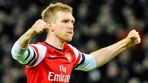 Per Mertesacker ist beim FC Arsenal schon Kult