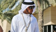 """Fühlt sich """"königlich"""": Lewis Hamilton"""