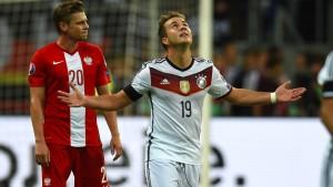 Deutschland dank Götze wieder Erster