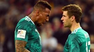 Nummern von Müller, Boateng und Hummels bereits neu vergeben
