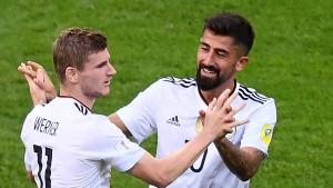 Deutschland souverän ins Halbfinale