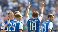 Bielefeld rettete in einem turbulenten Spiel gegen Union noch einen Punkt.