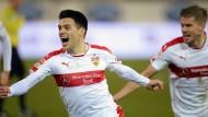 Der VfB besteht die schwäbische Herausforderung