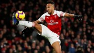 Aus der Bundesliga auf die Insel: Pierre-Emerick Aubameyang wechselte von Borussia Dortmund zum FC Arsenal.