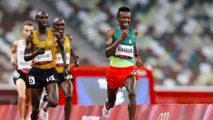 Die erste Goldmedaille geht nach Äthiopien