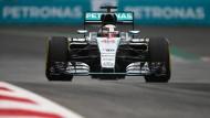 Platz da, jetzt komm ich: Lewis Hamilton dominiert die Formel 1