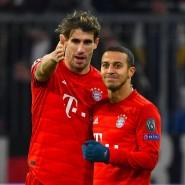 Bayerische Spanier: Javi Martínez (links) und Thiago.