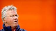 Abschied nach einem Jahr: Guus Hiddink verlässt Oranje