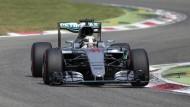 Schnell vorneweg: Lewis Hamilton sichert sich die Pole in Monza