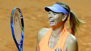 Siegemund folgt Scharapowa ins Halbfinale