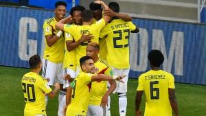 Kolumbien wirft Senegal aus dem Turnier