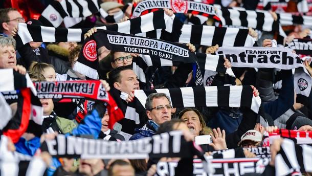 Kein Fan-Ausschluss für Eintracht Frankfurt