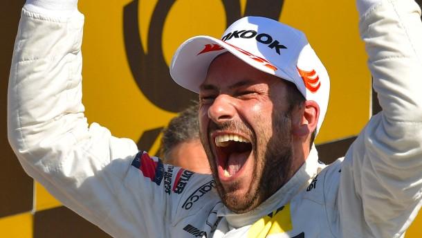 Paffett rettet Vorsprung und holt DTM-Titel