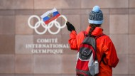 Olympia und die russische Fahne passen vorerst nicht zusammen