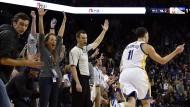 Thompson spielt sich in NBA in einen Rausch