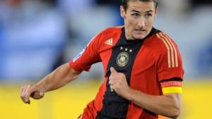 Viel Seelsorge für Miroslav Klose