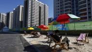 Olympisches Dorf unbewohnbar