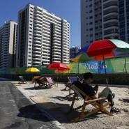 Auch ein bisschen Strand kann den Gesamteindruck nicht verbessern.